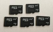 5 Stück  MicroSD 2GB  Speicherkarte