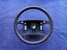 1992 Saab 9000 Steering Wheel Black 91 92 93 94 1991 1993 In Good Condition OEM