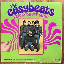 The Easybeats – Friday On My Mind – Beat Rock Vinyl LP - Mono