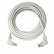2m 6ft Right Angle 90 Degree Cat5e Utp Lan Cable 10/100 Ethernet Patch cat 5 NEW