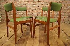 4x Esszimmer Stühle Mid Century Danish Modern Stuhl TEAK Dining Chairs Set 60s