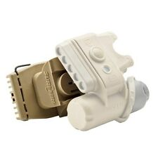 New Authentic Surefire Helmet Light Ratchet Mount, Tan, Model: HLM-01-TN