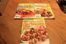 Pot luck and Barbecue cookbooks