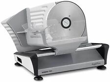 Waring Pro FS155 Professional Electric Food Slicer Premium Coated Steel Aluminum
