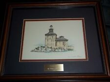 Ron Alabise Toledo Light Signed  Numbered out of 2000 Matted Framed Name Plate