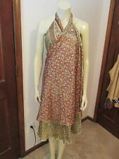 Ethnix Original Unique Silk Dress, Two Layers, Multiple Styles Possible, NEW