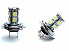H7 LED/SMD faros antiniebla cada uno con 13 LEDs Xenon Weiss renault, etc....