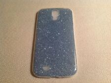 Glitter Back Clear Silcone Gel Plastic For Samsung S4 S5 S6 S7 Case Cover w24