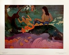 AMAZING ORIGINAL GAUGUIN LITHOGRAPH PRODUCED BY NATIONAL GALLERY OF ART