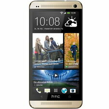 HTC ONE M7 32GB BoomSound Quad Core NFC 4G Android Sbloccato italiano oro