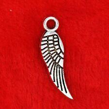 25 X plata tibetana Angel Wing encanto colgante encontrar grano de la fabricación de joyas