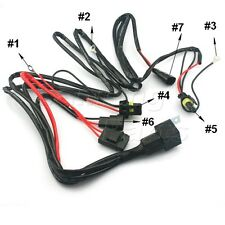 1X 9006 9005 HB3 35W/55W Xenon HID Conversion Relay Wiring Harness For Headlight