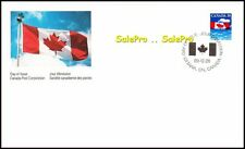 CANADA 1989 CANADIAN MAPLE NATIONAL FLAG FACE 39 CENT NEW RARE STAMP COVER FDC