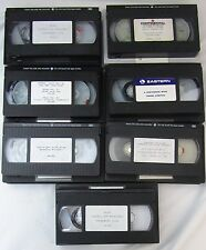 Eastern Airlines Continental ALPA Bavis Lorenzo 1989 Strike VHS Tape Lot of 7!!!