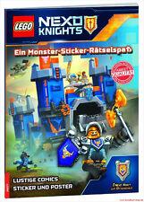 Fachbuch LEGO® Nexo Knights™, Monster-Sticker-Rätselspaß mit Stickern und Poster