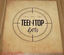 TEEN TOP 20's LOVE TWO EXITO K-POP CD + PHOTOCARD + POSTER IN TUBE CASE SEALED