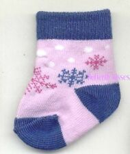 Snowflake Socks Doll Clothes Made For 18 or 15 Inch  American Girl Dolls