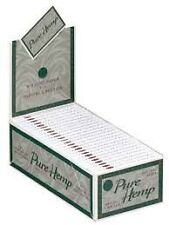 Smoking Rolling Paper Standard Pure Hemp Box of 50 Booklets