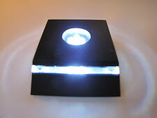 "Lot of 4 LED Light Stand for Crystal / Glass Art / White Light - ""New Design"""