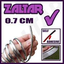 7MM 0.7 CM CHROME STYLING EDGING DETAIL STRIP TRIM CAR