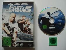 FAST & FURIOUS 5 _  DVD  _  Vin Diesel _ Paul Walker _ Dwayne Johnson _ FSK 12