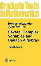 Several Complex Variables and Banach Algebras (Graduate Texts in Mathe-ExLibrary