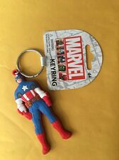 Marvel Captain America Soft Touch PVC Key Ring