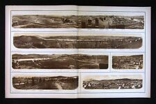 Civil War Photos - Knoxville Panoramic Views Chattanooga Tennessee
