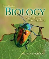 Biology: Concepts and Investigations, 2nd Edition Hoefnagels, Mariëlle Hardcove
