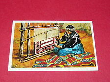N°317 COUVERTURE NAVAJO CONQUETE DE OUEST WILLIAMS 1972 PANINI FAR WEST WESTERN