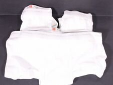 Hanes Underwear Lot of 3 Briefs Size 42 Tighty Whities New Without Package USA