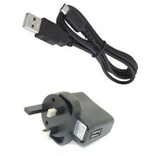 1Pcs UK Battery Wall AC Charger+USB SYNC Cable for For Nintendo DS NDS Lite NDSL