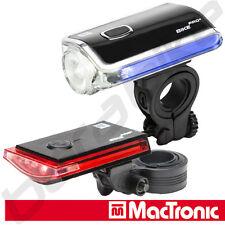 Mactronic BikePro Galaxy Fahrradleuchte Frontlicht Rücklicht Set mit Seitenlicht