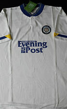 LEEDS UNITED Retro FOOTBALL SHIRT Season 91/92 Evening Post BNWT