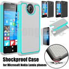 Heavy Duty Shockproof Hard Case Cover For Microsoft Nokia Lumia Mobile Phones