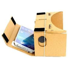 New Cardboard Virtual Reality 3D DIY Glasses For Google Android iPhone Samsung