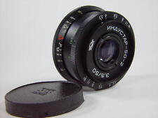 Exc++ !! Industar-50-2 3.5/50 for Zenit M42. Front cap are include.