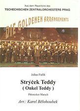 Blasmusiknoten Onkel Teddy / Pitoresker Marsch