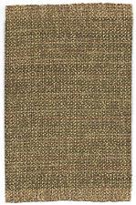 "Dollhouse mini 1:12 scale self fringed rug, in shades of tan & gold 5 3/4"" x 9"""