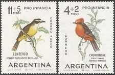 Argentina 1963 Flycatcher/Kiskadee/Birds/Nature/Wildlife/Welfare 2v Set (n31660)