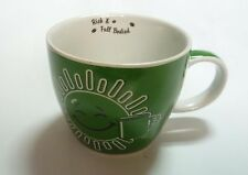 NESCAFE COFFEE Green Mug Cup from MALAYSIA Rich & Full Bodied Sun Design