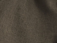 Drapery Fabric Colored Polyester Burlap Tight Weave Anti-Wrinkle - Dark Brown