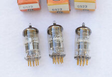 Mullard 6922 / 6DJ8 NOS Vintage UK GE-Label Vacuum Tubes - Amplitrex Tested