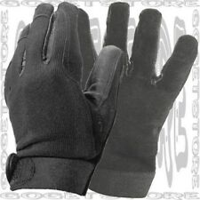 XL Biker Driver ATV Mechanic Police Shooting Real Hide Leather Palm Glove Men
