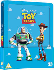 Toy Story Steelbook 3D+2D Blu-ray Discs With Lenticular Magnet Region Free