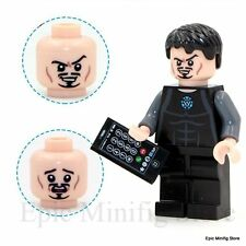 Custom Tony Stark Iron Minifigure Marvel Superhero fits with Lego 0160 UK Sellar