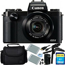 Canon PowerShot G5 X Digital Camera 16GB Bundle BRAND NEW!