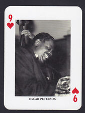Oscar Peterson,Jazz Legends Single playing card