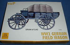 HAT 8260 WW1 GERMAN FIELD WAGON. 1/72 SCALE UNPAINTED PLASTIC