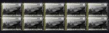 JOHNNIE JOHNSON WWII SPITFIRE ACE STRIP OF MINT STAMPS3
